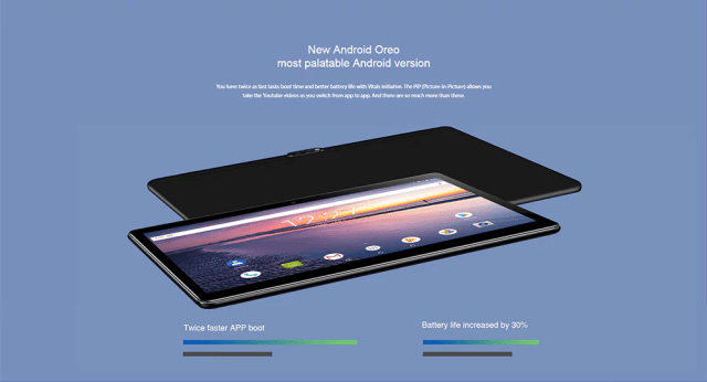 Chuwi Hi 9 Air 4G Tablet PC OS