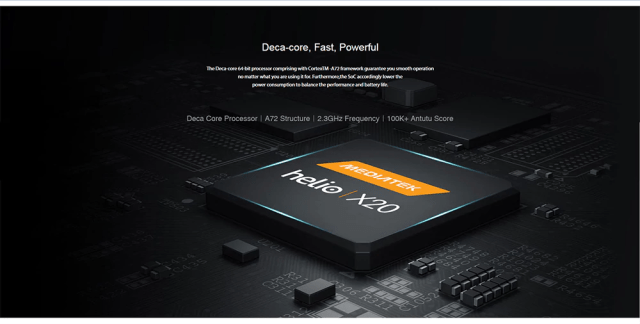Chuwi Hi 9 Air 4G Tablet PC Processor