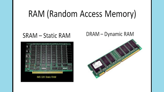 Difference Between RAM and ROM Types of RAM