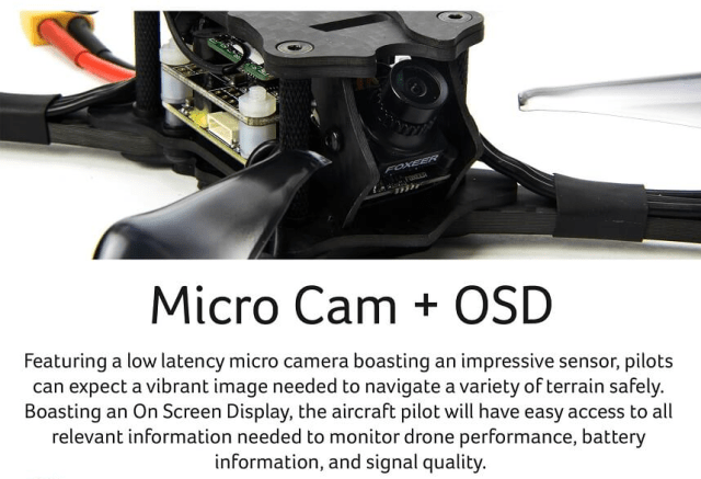 EMAX HAWK 5 FPV Racing Drone Camera