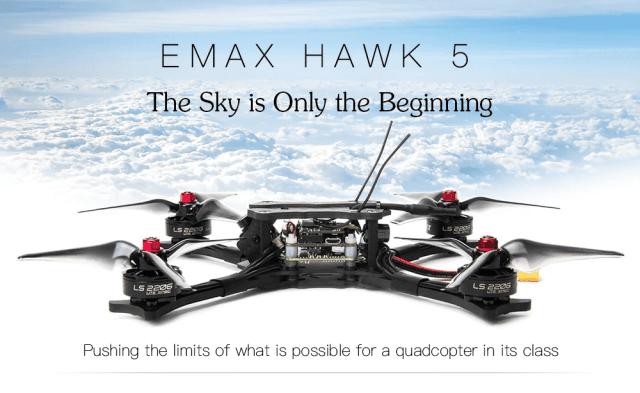 EMAX HAWK 5 FPV Racing Drone Look