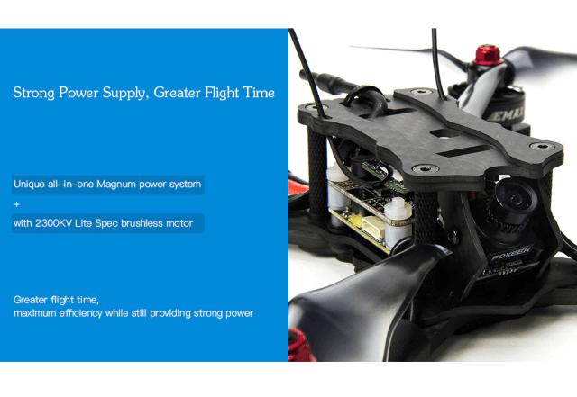 EMAX HAWK 5 FPV Racing Drone Magnum power system