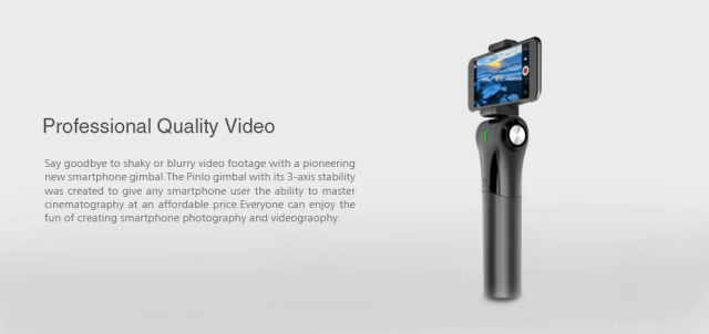Pinlo M1C Camera Stabiliser Video Quality