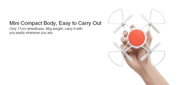 Xiaomi MITU Mini RC Drone Design