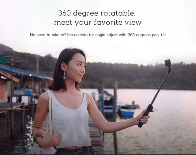 Xiaomi XXJZPG01YM Bluetooth Selfie Stick 360 Rotation