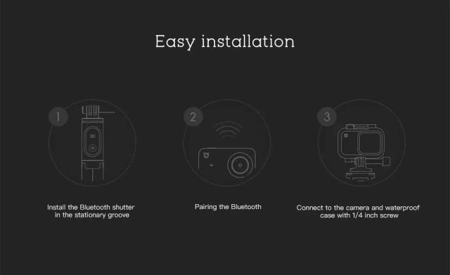 Xiaomi XXJZPG01YM Bluetooth Selfie Stick Installation