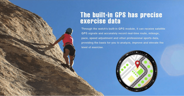 Zeblaze Thor Pro 3G Smartwacth GPS