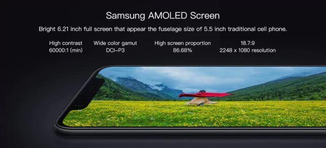 Xiaomi Mi 8 Display