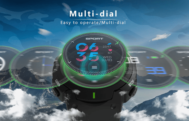 DTNO.I F13 Smart Watch Multi Dial