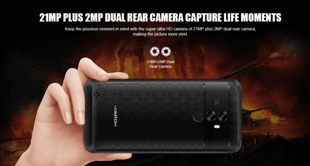 HOMTOM S99 Camera