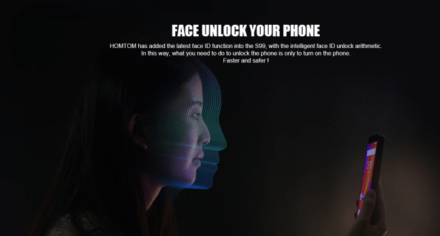 HOMTOM S99 Face ID