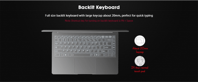 JUMPER EZbook X4 Notebook Keyboard