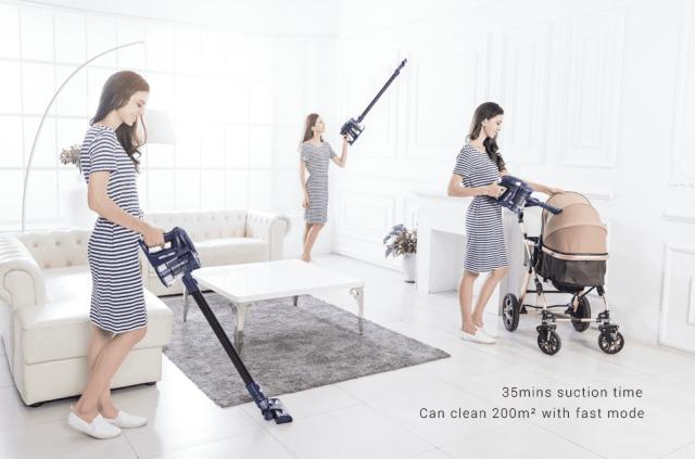 WP536 Handheld Vacuum Cleaner Usage