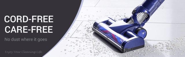 WP536 Handheld Vacuum Cleaner Work