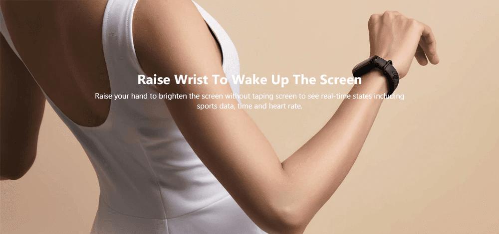 Xiaomi Mi Band 3 Raise To wake