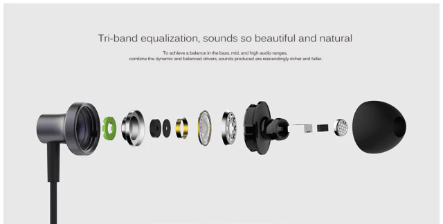 Xiaomi QTEJ03JY Hybrid Earphones Equilizer