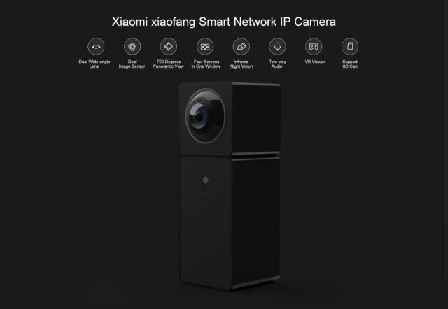 Xiaomi xiaofang Panoramic Camera Look