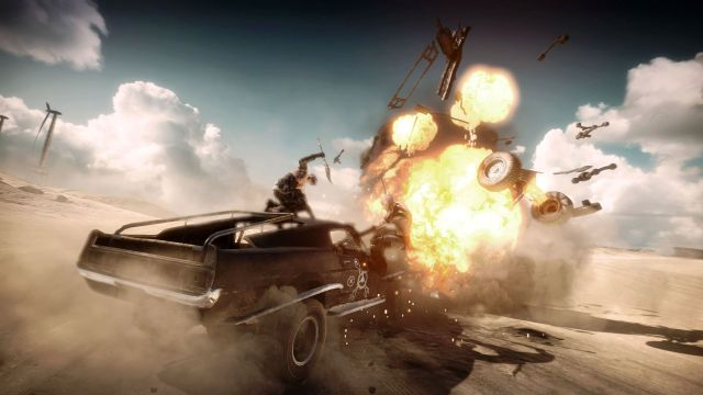 Driving In Mad Max