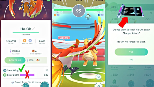 Best Ho-Oh Counters Ho-Oh moves