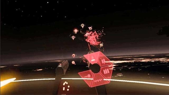 Best Oculus Rift Games Space Pirate Trainer