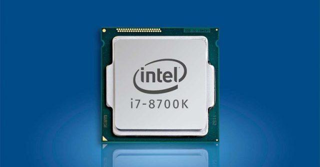 Top 10 Intel Processor List Intel Core i7 - 8700K