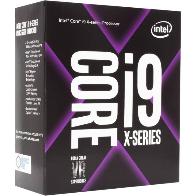 Top 10 Intel Processor List Intel Core i9 - 7900X