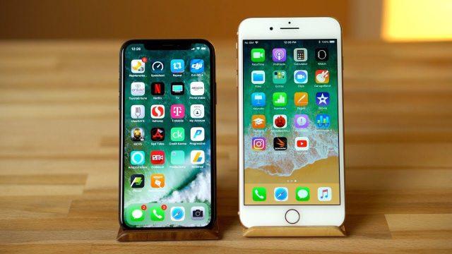 iPhoneX vs iPhone 8 Plus