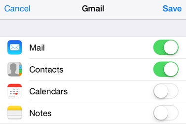 How to Transfer Google Contacts to iPhone M 2 Step 2