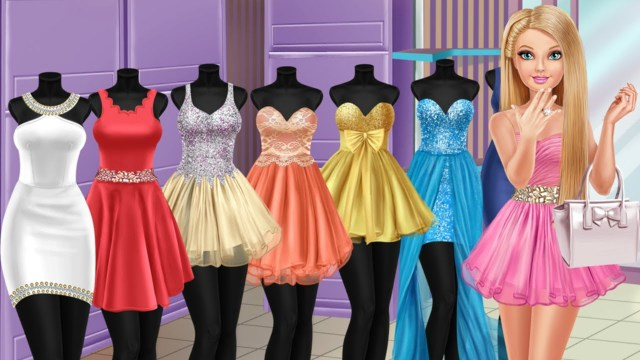 Barbie Dress-Up Games