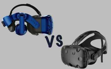 HTC Vive vs Vive Pro