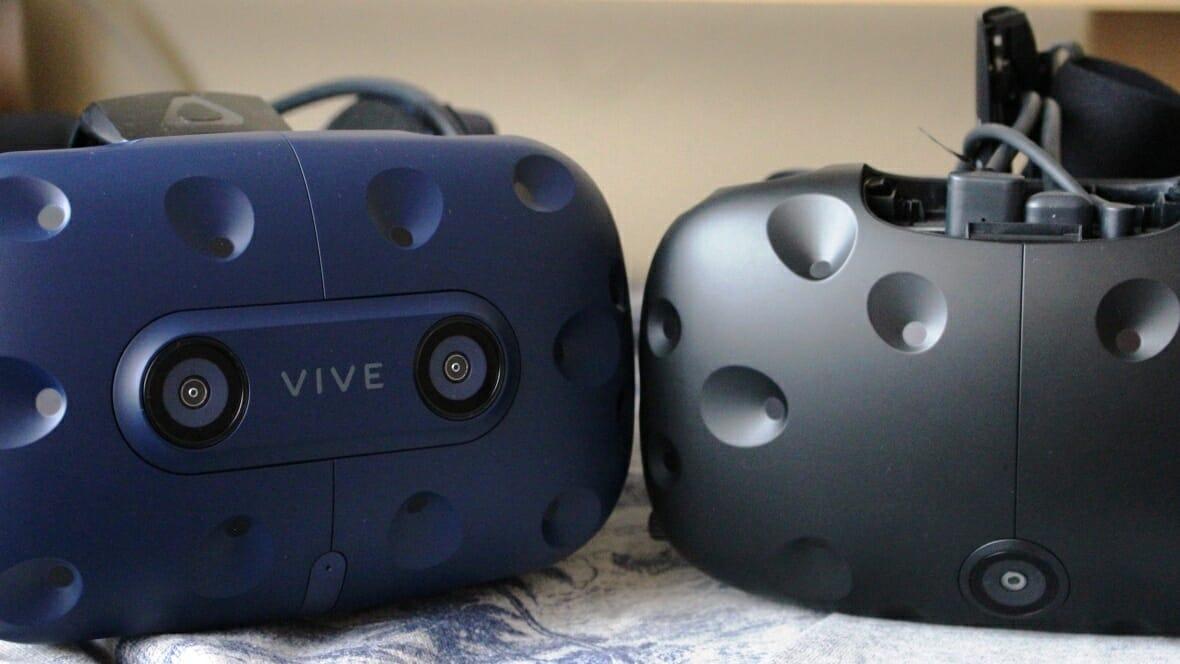 Vive vs Vive Pro