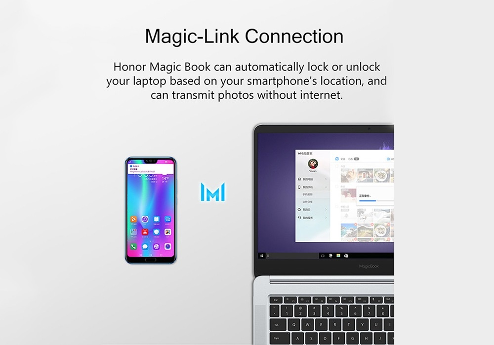 HUAWEI Honor MagicBook Laptop: Connectivity Options