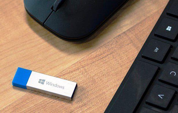 Install Windows 10 From USB