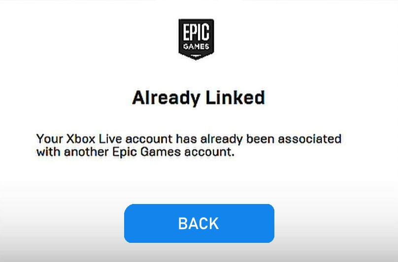 FIXED Your Xbox Live Account Has Already Been Associated ...