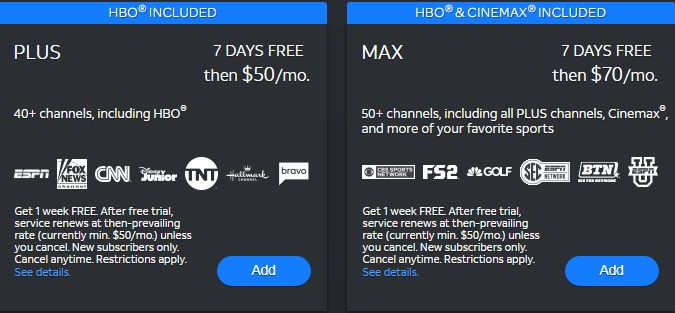 DIRECTV NOW review 2019