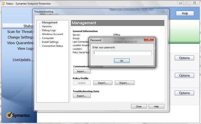 Disabling Symantec Endpoint Protection's Program-Blocking Feature