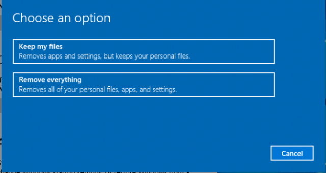 keep my files This Operation Requires an Interactive Window Station