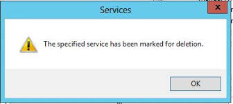 FIXED] The Specified Service has been Marked for Deletion Error