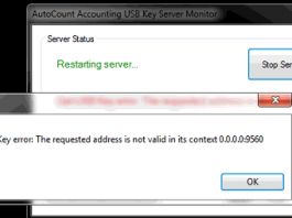 The Requested Address Is Not Valid In Its Context Error