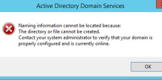 The Directory or File Cannot be Created