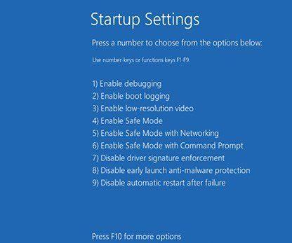 Windows 10 Black Screen after Login boot-into-safe-mode-windows-10