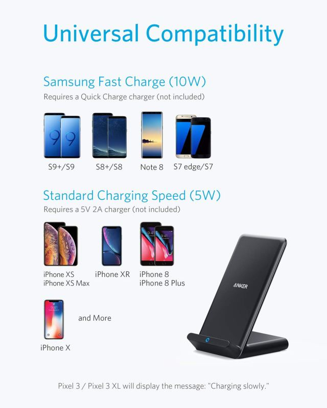 Anker Fast Wireless Charger compatibility