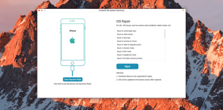TunesKit iOS System Recovery Mac Review
