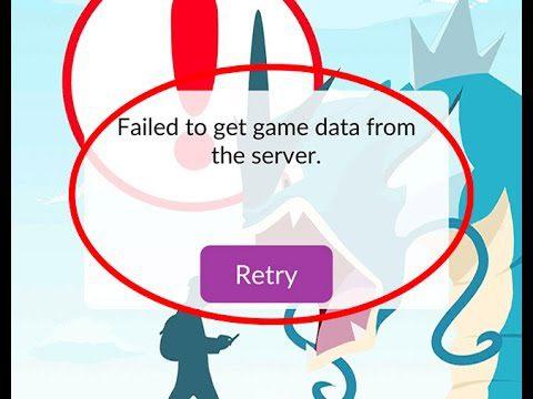 server problem pokemon go