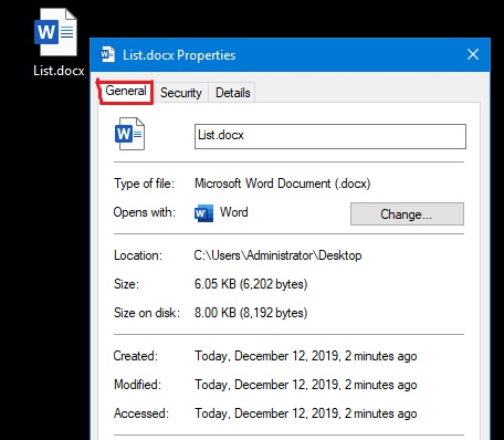 general tab Windows Cannot Access the Specified Device Path or File