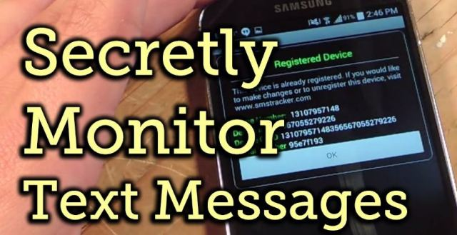 Application For Tracking Text Messages