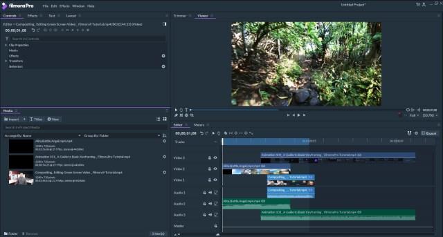 Basic Editing with FilmoraPro