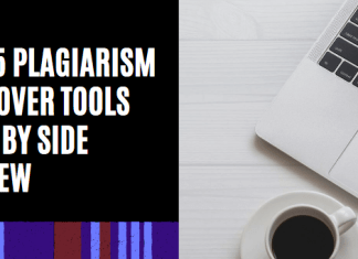 Top 5 Plagiarism Remover Tools Side by Side Review