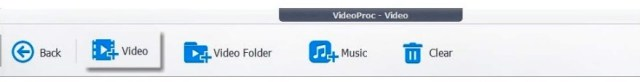 Click + (Plus) option to add one or more MP4 videos