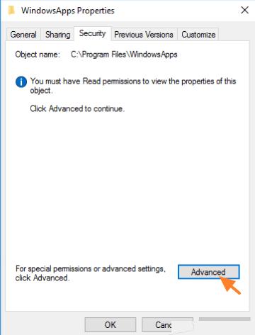 Modify Folder's (or File's) Permissions